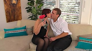 Naughty Housewife Dreams About Anal Sex
