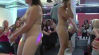 A fuckin\' stripper contest of some sort
