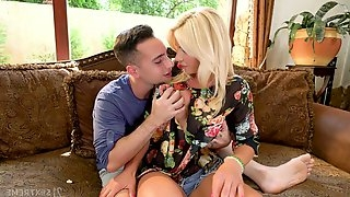 Smoking hot milf Tiffany Rousso is fucked by handsome hot blooded stepson